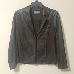 Michael Stars Leather Jacket